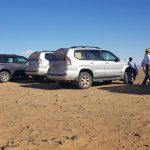 viaje especial en grupo en 4x4 por el Desierto